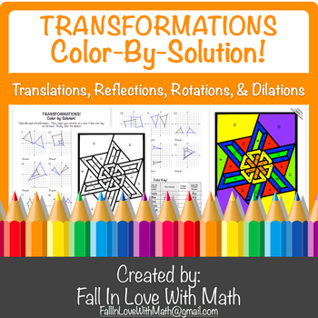 Transformations  Color-By-Solution!
