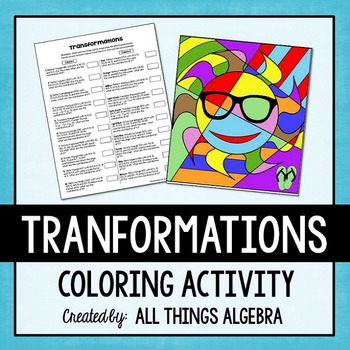 Transformations Coloring Activity
