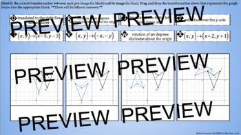 Transformations - Congruent Figures Review - GOOGLE Slides