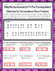 Transformations:  Coordinate Plane Dilations Riddle Practice Worksheet