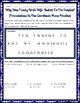 Transformations:  Coordinate Plane Translations Riddle Pra