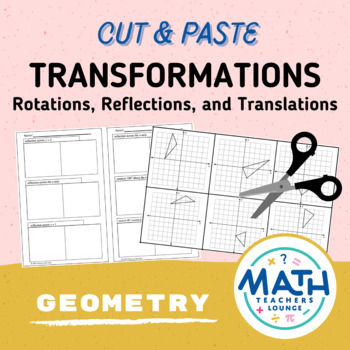 Transformations: Cut and Paste Activity