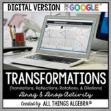 Transformations DIGITAL Drag & Drop Activity (for Google Slides™)