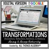 Transformations Drag & Drop Activity (for Google Slides™)