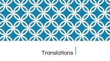 Transformations Day 3 (Translations)