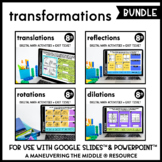 Transformations - Digital Math Activities (Distance Learni
