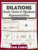 Transformations: Dilation on Coordinate Plane (Algebraic representations)
