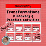 Transformations Activities - Discovery and Practice Bundle