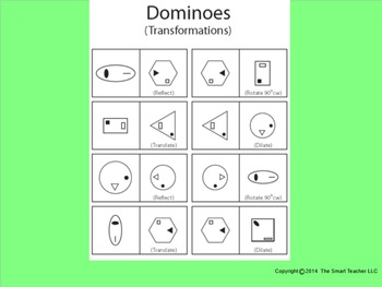 Transformations Dominoes