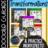 Transformations Doodle Guides Bundle; Geometry, Reflections, Rotations