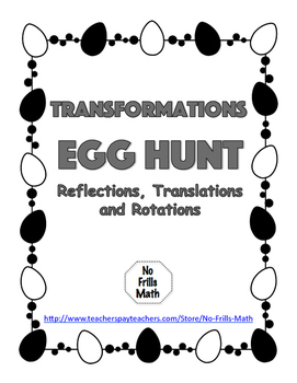 Transformations Egg Hunt
