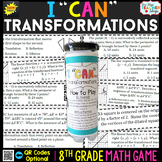 8th Grade Transformations Game 8th Grade Math Review {I CA
