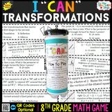 8th Grade Math Game   Transformations