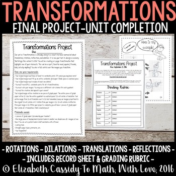 Transformations-Final Project, Junior High, Math Transform