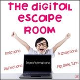 Transformations (Flip, Slide, Turn) Digital Escape Room fo