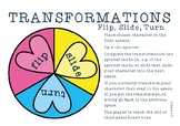 Transformations - Flip, Slide, Turn Games