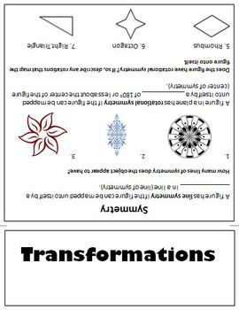 Transformations Flipbook