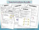 Transformations Foldables Bundle for Interactive Notebooks