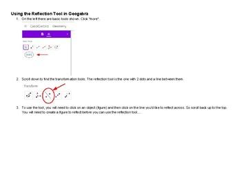 Transformations Geogebra Assignment (between Days 1 & 2)