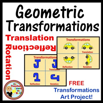 Transformations Art Activity- Geometric Transformations