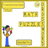 Transformations Geometry Crossword Puzzle