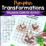 Transformations Halloween Activity for Geometry