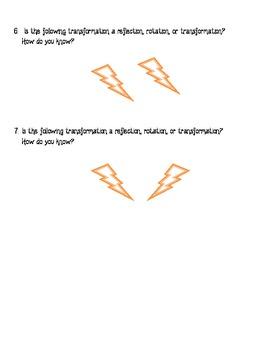 Transformations - Homework