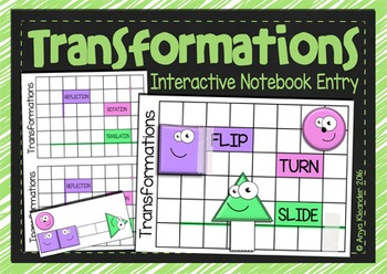 Transformations Interactive Notebook Entry