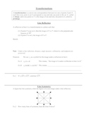 Transformations: Line Reflection and Symmetry Worksheet