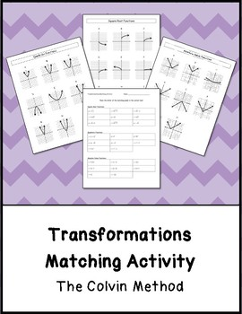 Transformations Matching Activity