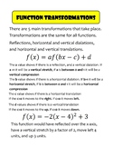 Transformations Poster