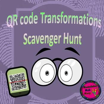 Transformation QR code Scavenger Hunt Activity - Great uni