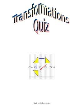 Transformations Quiz