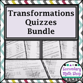 Transformations:  Quizzes Money Saving Mini - BUNDLE!!!