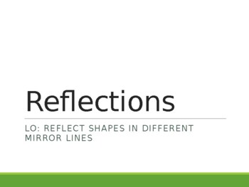 Transformations - Reflection