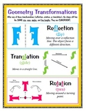 Transformations - Reflection, Translation, Rotation