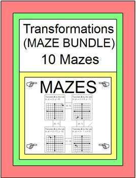 TRANSFORMATIONS: MAZE BUNDLE - 10 MAZES