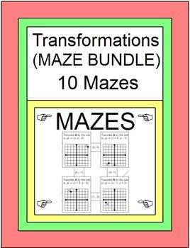 TRANSFORMATIONS: MAZE BUNDLE - 10 MAZES