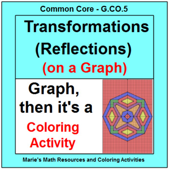 TRANSFORMATIONS: REFLECTIONS ON A GRAPH - COLORING ACTIVITY