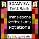 Transformations Reflections Rotations Translations ExamView Test Bank Go Math