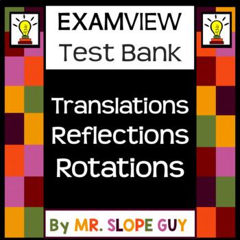 Transformations Reflections Rotations Translations ExamVie