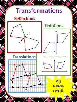 Transformations (Reflections, Rotations, Translations)