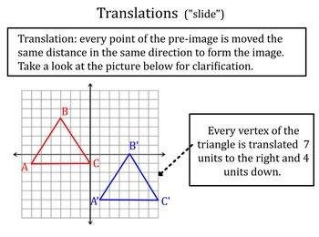 Transformations: Reflections & Translations