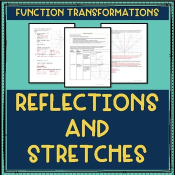Transformations: Reflections and Stretches Lesson Plan Math 30-1