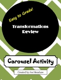 Transformations Review CAROUSEL ACTIVITY