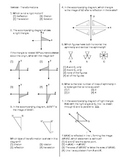 Transformations Review Packet
