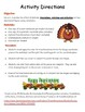 Transformations Review Puzzle - Thanksgiving  Art activity-CCSS 8.G.A.3, 8.G.A.4
