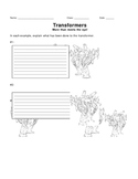 Transformations Review - Transformers