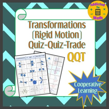 Transformations (Rigid Motion) QQT (Quiz-Quiz-Trade)