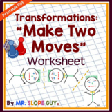Transformations Reflections Rotations and Translations Worksheet